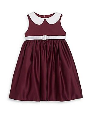 Toddler's & Little Girl's Jeweled Belt Dress