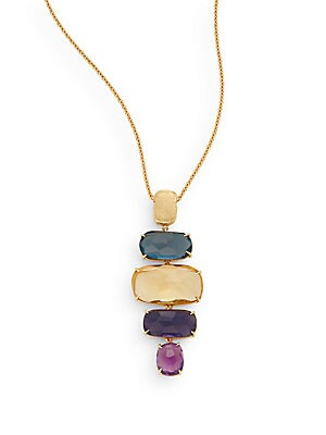 Click here for Murano Semi-Precious Multi-Stone & 18K Yellow Gold... prices