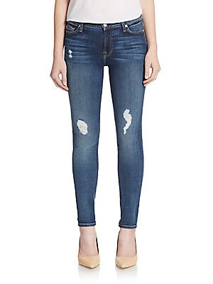 Gwenevere Distressed Skinny Jeans