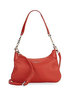 Julia Leather Hobo Bag