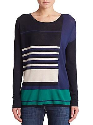 Colorblock Striped Top