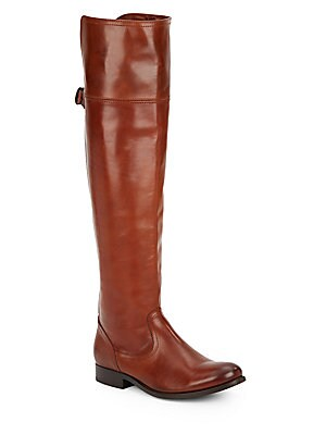 Melissa Leather-Blend Tall Boots