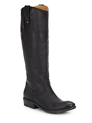 Carson Leather Riding Boots