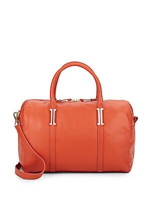 Hudson Leather Satchel