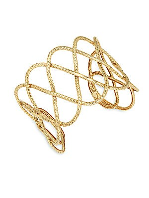 Click here for 18K Yellow Gold Cuff Bracelet prices