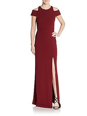 abs female cutout gown
