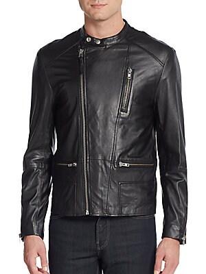 Ruben Leather Moto Jacket