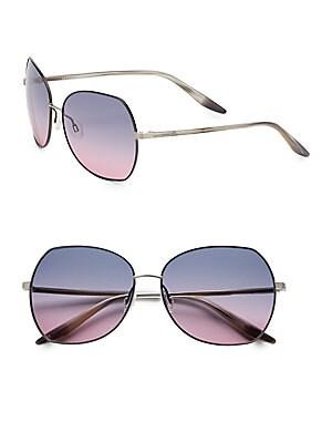 61MM Yadiel Oversized Sunglasses