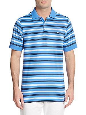 Regis Striped Polo Shirt