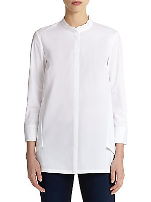 Pia Draped-Back Shirt