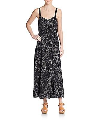 Jade Silk Maxi Dress