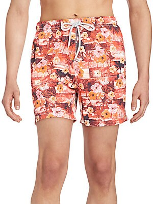 Hawaii Patchwork Swim Trunks