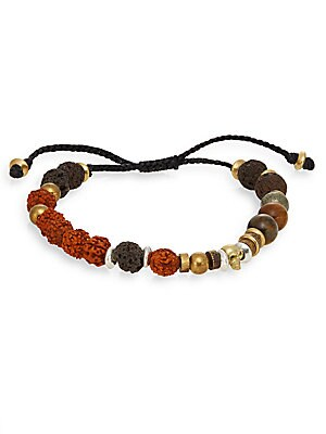 Multi-Bead Cord Bracelet
