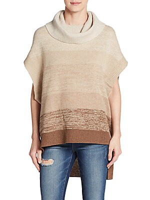 Elinor Wool & Cashmere Ombre-Stripe Sweater
