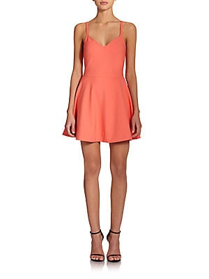 Delia Fit-And-Flare Dress