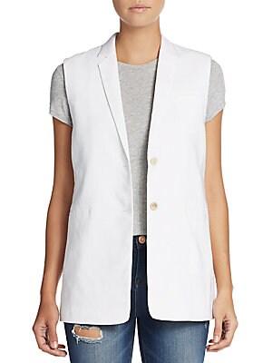 Linen & Silk Vest