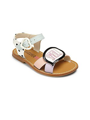 Infant's, Toddler's, & Kid's Small Talk Bubble Sandals