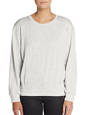 Cotton & Tencel Sweatshirt