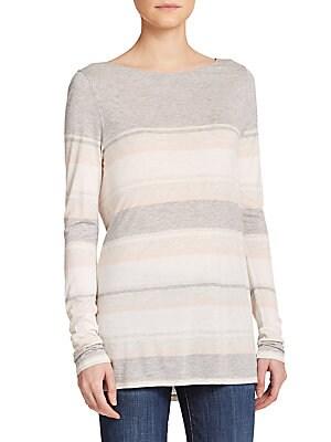 Engineered Stripe Sweater