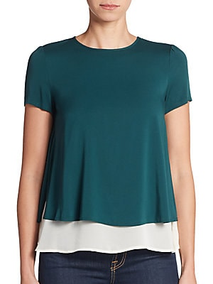 Ree Double Layered Blouse