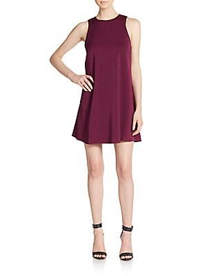 Back-Cutout A-Line Dress
