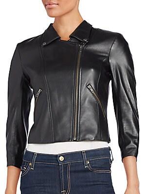 Jotor Leather Moto Jacket