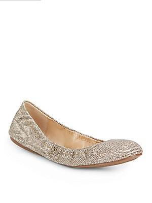 Elanora Metallic Ballet Flats