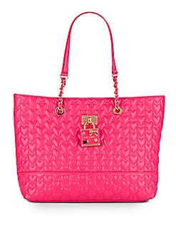 Be My Baby Quilted Heart Tote