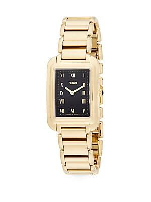 Classico Goldtone Stainless Steel Bracelet Watch