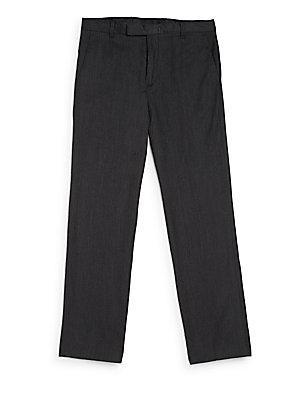 Boy's Micro-Chevron Pants