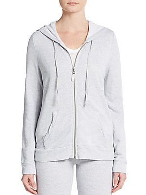 Drop-Shoulder Hooded Sweatshirt