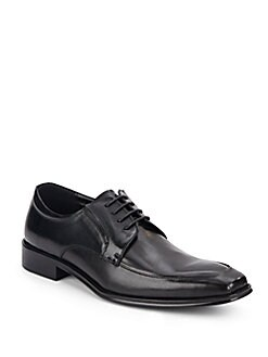 Moc-Toe Leather Derby Shoes