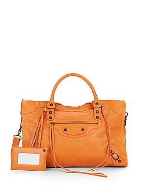 Leather Classic City Bag