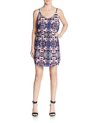 Belinda Kaleidoscope-Print Dress