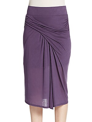 Twisted Jersey Skirt