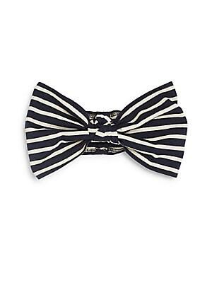 Chiara Striped Cotton Headband