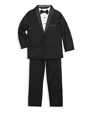 Toddler Boy's Gents Two-Piece Tuxedo Set