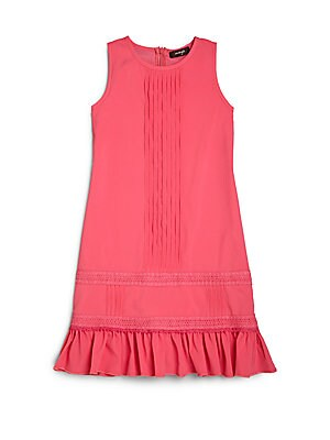 Girl's Pintucked Dress