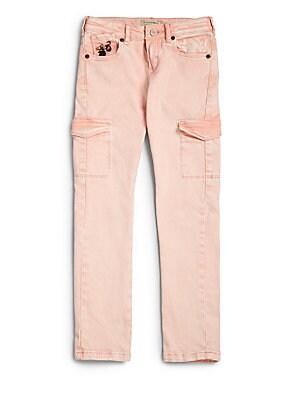 Girl's Twill Pants