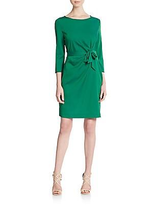 Zoe Stretch-Silk Jersey Dress