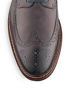 Williams Leather Wingtip Brogues