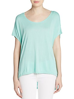 Seamed Hi-Lo Top