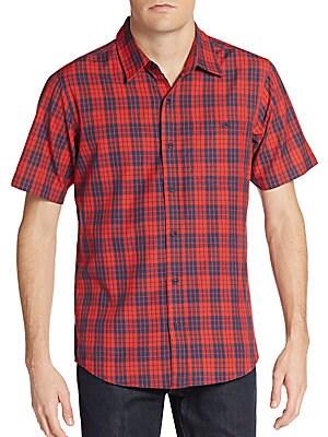 Musket Plaid Cotton Shirt