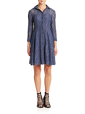 Lace Fever Denim Dress