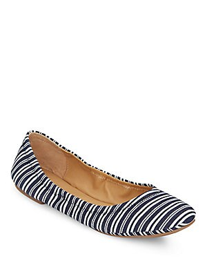 Elysia Striped Ballet Flats