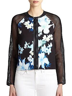 Sandie Laser-Floral Jacket