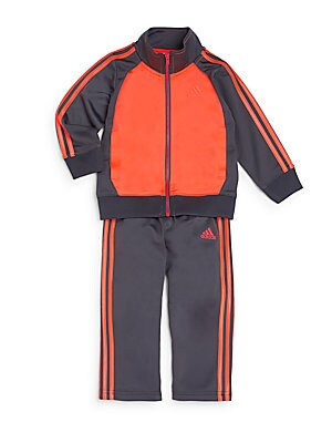 Baby's Kick Off Colorblock Jacket & Pants Set