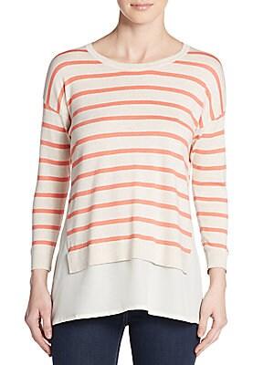Striped Layered Sweater