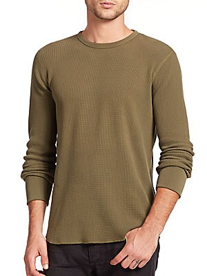 Standard Issue Waffle-Knit Tee