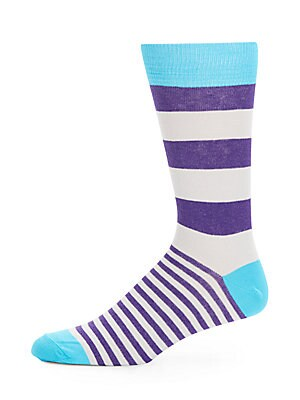 Rugby Striped Socks